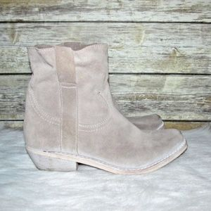0b2dc9367 Sam Edelman Shoes - Sam Edelman Myron Light Brown Suede Ankle Boots